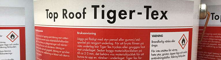Top Roof Tiger-Tex